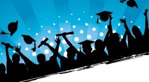 Graduation Celebration Grunge